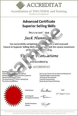 Here are some samples of ACCREDITAT Training Certificates. Once you ...